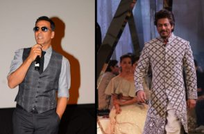 Shah Rukh Khan and Akshay Kumar (Courtesy: IANS)