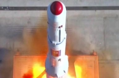 North Korea ballistic Missile