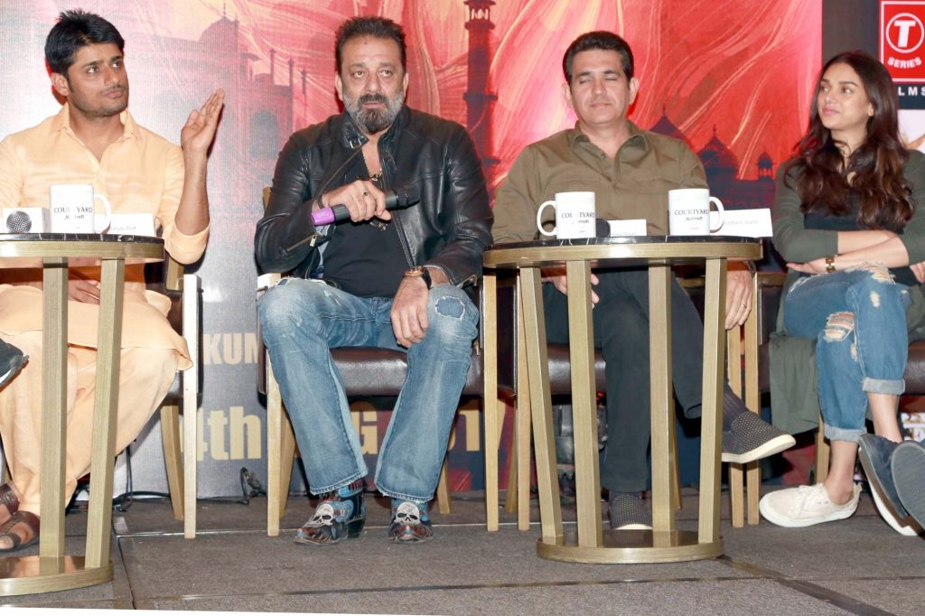 Team of Bhoomi during press conference
