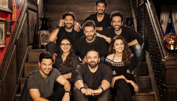 Ajay Devgn gives a sneak peek at the 'Golmaal Again' family