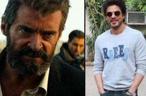 Hugh Jackman and Shah Rukh Khan