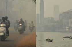 India's air quality is 50 percent worse than China and we are steadily moving towards worse
