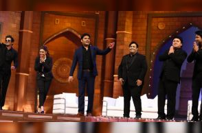 Members of The Kapil Sharma Show (Courtesy: IANS)