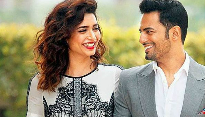 Karishma Tanna and Upen Pael (Courtesy: Twitter/@BollywoodMmFans)