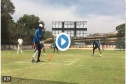 Watch: Virat Kohli, Ajinkya Rahane show Team India how it's done ahead of 2nd Test againstAustralia
