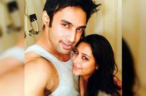 Pratyusha Banerjee and Rahul Raj Singh (Courtesy: Twitter/@WebduniaTelugu)
