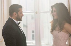 Salman Khan and Katrina Kaif (Courtesy: Twitter/@BeingSalmanKhan)