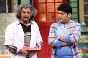 Sunil Grover and Kapil Sharma (Courtesy: Twitter/@AviRaina)