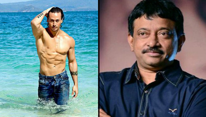 Tiger Shroff and Ram Gopal Varma (Courtesy: Twitter)
