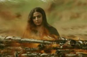 Vidya Balan in a still from song (Courtesy: YouTube/Times Music)