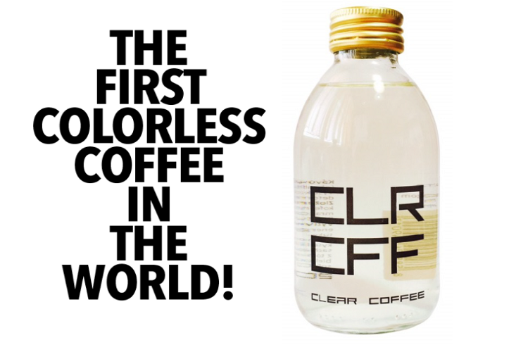 Love coffee but hate the stains? Here's Clear Coffee to the rescue