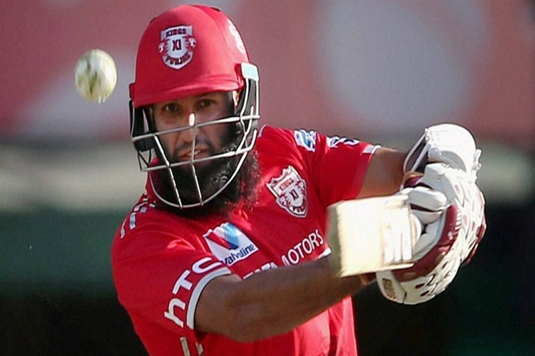 IPL 2017 KXIP vs MI innings report Hashim Amla slaps his critics with a belligerent 104* MI need 199