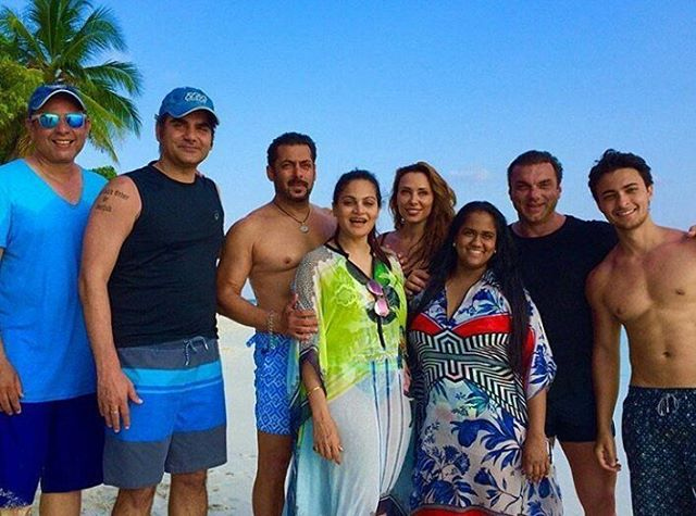 Salman Khan In Maldives