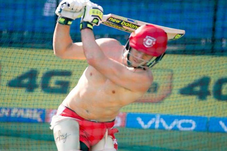 IPL 2017: Girls close your eyes! David Miller's 'shirtless' pic is too hot to handle