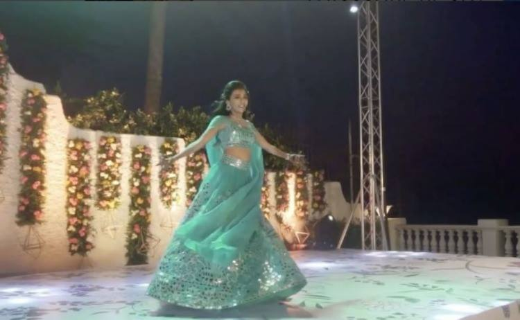 A glimpse of Minawala's breath-taking dance moves