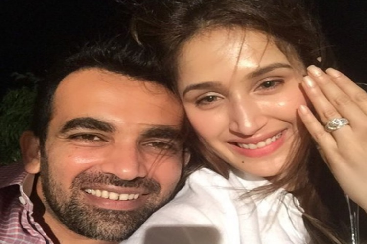 Zaheer Khan's 'Chak De' moment, engaged to actress Sagarika Ghatge