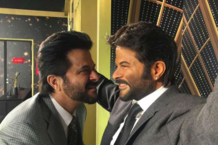 You can't miss Anil Kapoor twinning with his wax statue at MadameTussauds