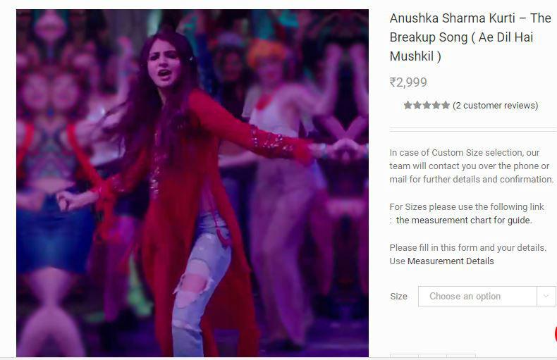 anushka-sharma-breakup-red-kurta