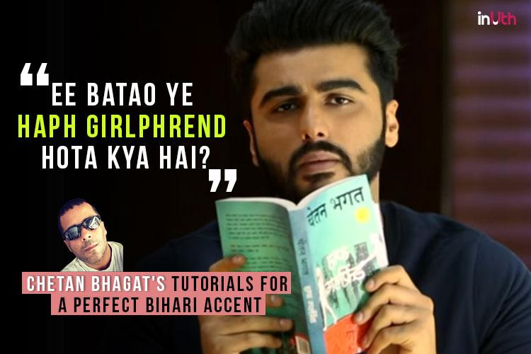 Arjun Kapoor in a still from Half Girlfriend's teaser.