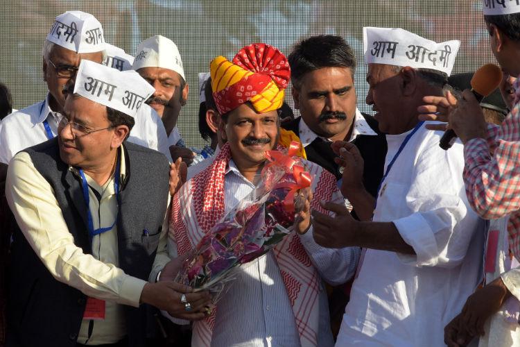 AAP in 2 years has done more work than BJP in 10 years: Arvind Kejriwal on MCDpolls