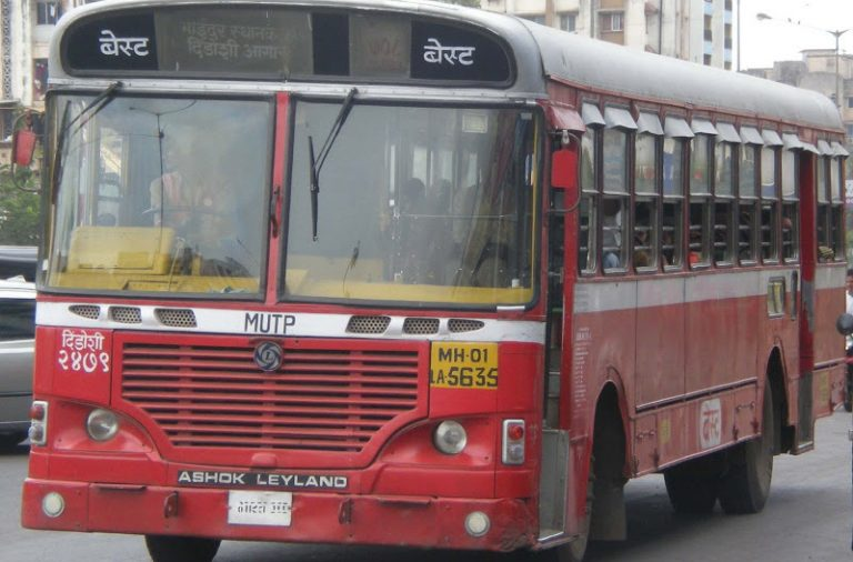 Mumbai bids farewell to iconic red-colored BESTbuses