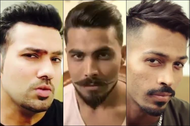 Rohit, Jadeja and Hardik Pandya Take the BreakTheBeard Challenge