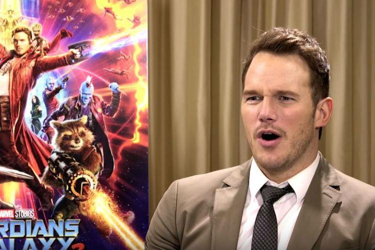 Chris Pratt Guardians of the Galaxy Bappi Lahiri Reaction