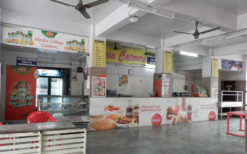 Hindu college canteen