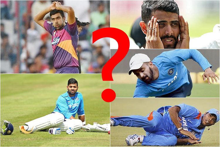 Here's the list of star Indian players who will miss IPL 10 due toinjury!