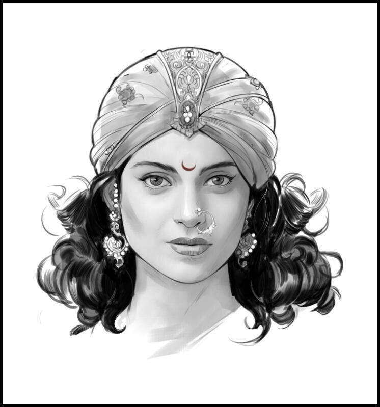 Kangana Ranaut as Rani Laxmibai