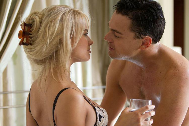 Margot Robbie Leonardo Dicaprio The Wolf of Wall Street