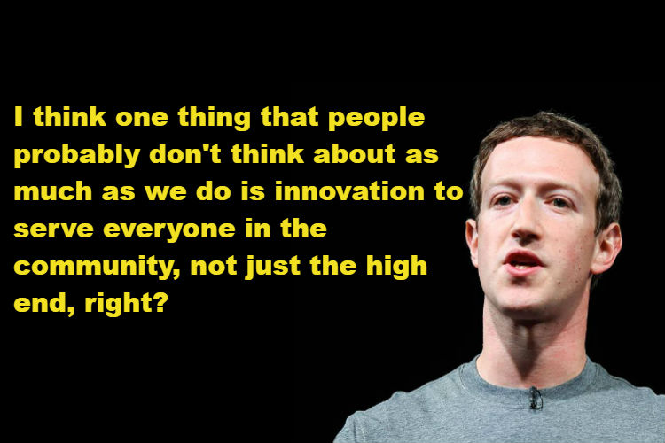 Here's what Mark Zuckerberg has to say about Snapchat CEO Evan Spiegel's 'poor India'remark