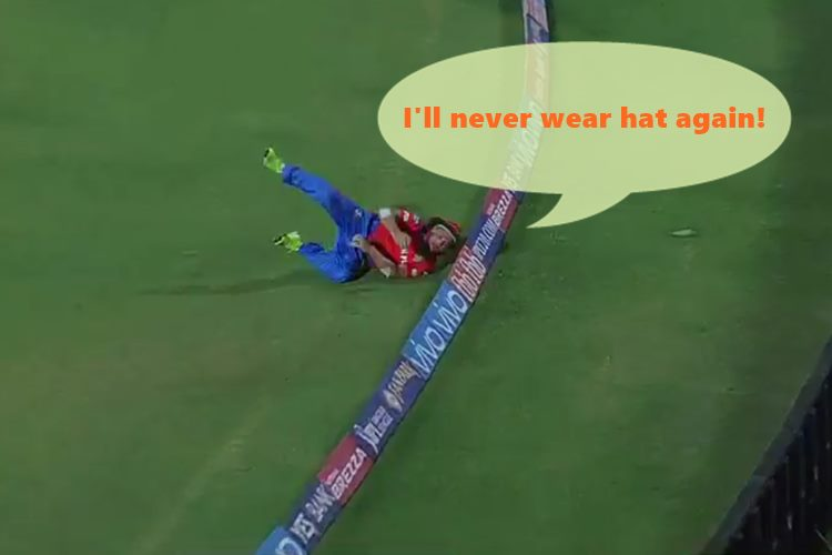 Watch Brendon McCullum's 'hat' becomes the villain of Gujarat Lions gives Chris Gayle a second chance