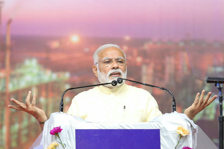 Every Indian should have a house by 2022: Modi