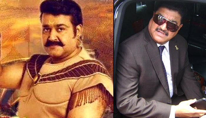 Mohanlal's first look from Rs 1000 crore Mahabharata