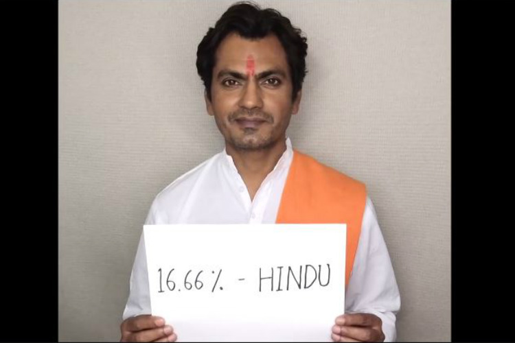 Watch: Nawazuddin Siddiqui got a DNA test done, found out what religion he belongsto