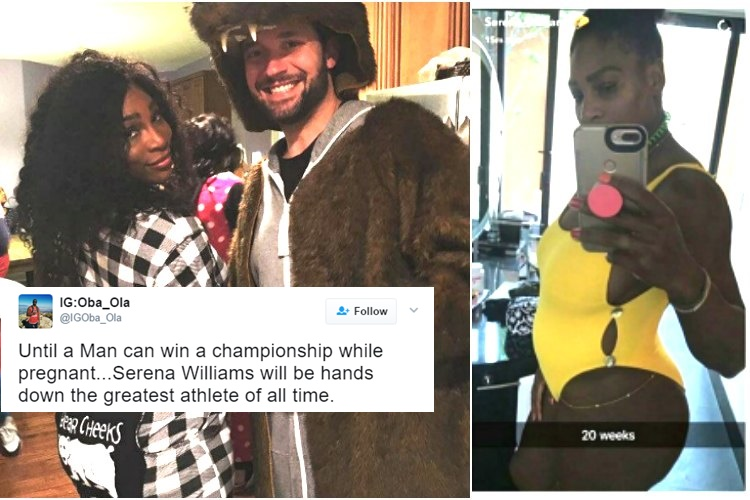 10 tweets about Serena Williams winning 2017 Australian Open while pregnant that will cleanse yoursoul