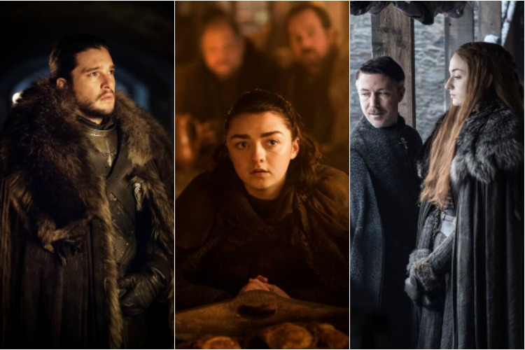Game of Thrones releases season 7 photos: winter is clearly coming veryslowly