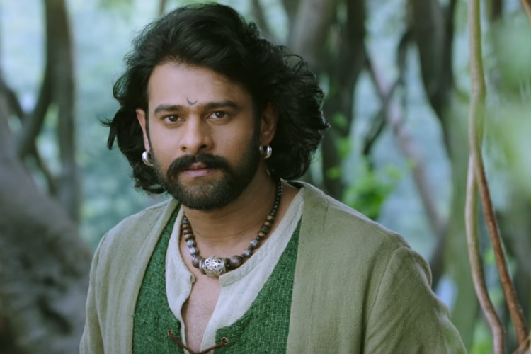 Prabhas in a still from the trailer of Baahubali 2.