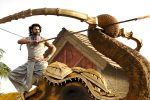 Prabhas in a still from Baahubali 2