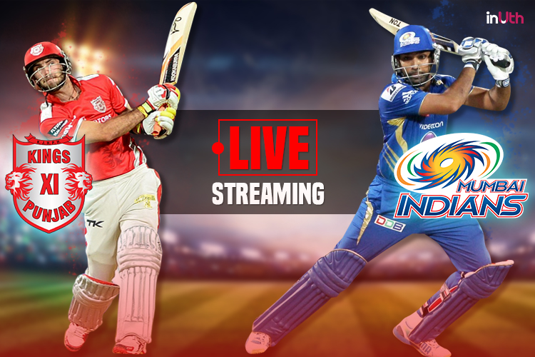 IPL 2017 Kings XI Punjab vs Mumbai Indians Live Streaming & TV Coverage on Sony Six & Sony Max