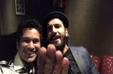 Ranveer Singh with Sachin