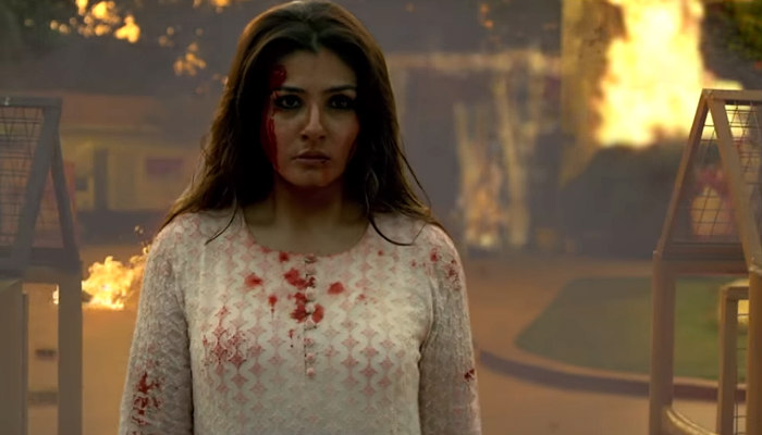 Raveena Tandon in a still from Maatr