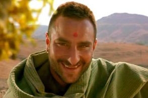 Saif Ali Khan in a still from Omkara. (Courtesy: YouTube grab)