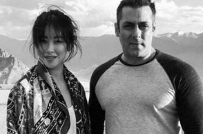 Salman Khan Zhu Zhu, Express photo for InUth