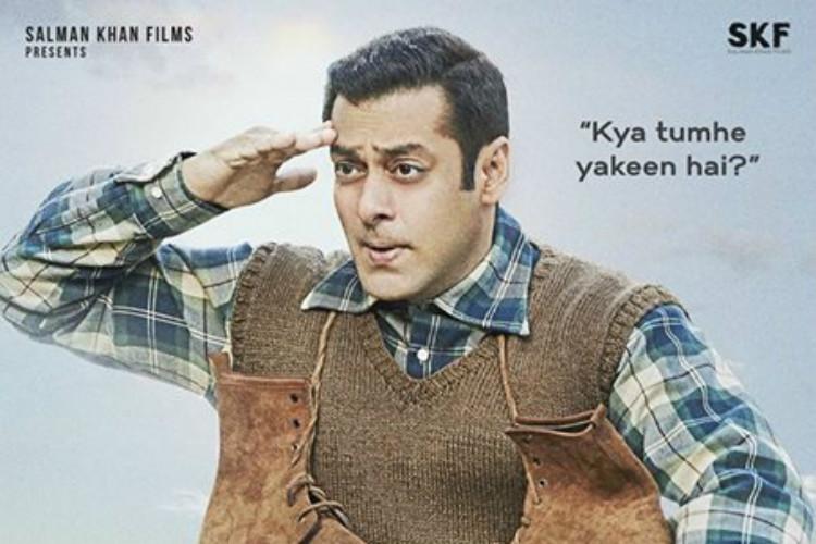 Salman Khan unveils second teaser poster ofTubelight