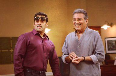 Salman Khan and Vinod Khanna. (Courtesy: Twitter/Salman Khan)