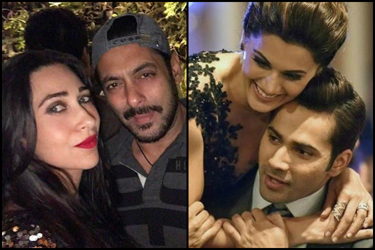 Watch: Varun Dhawan and Taapsee Pannu recreate Salman and Karisma's Oonchi Hai Building song for Judwaa 2