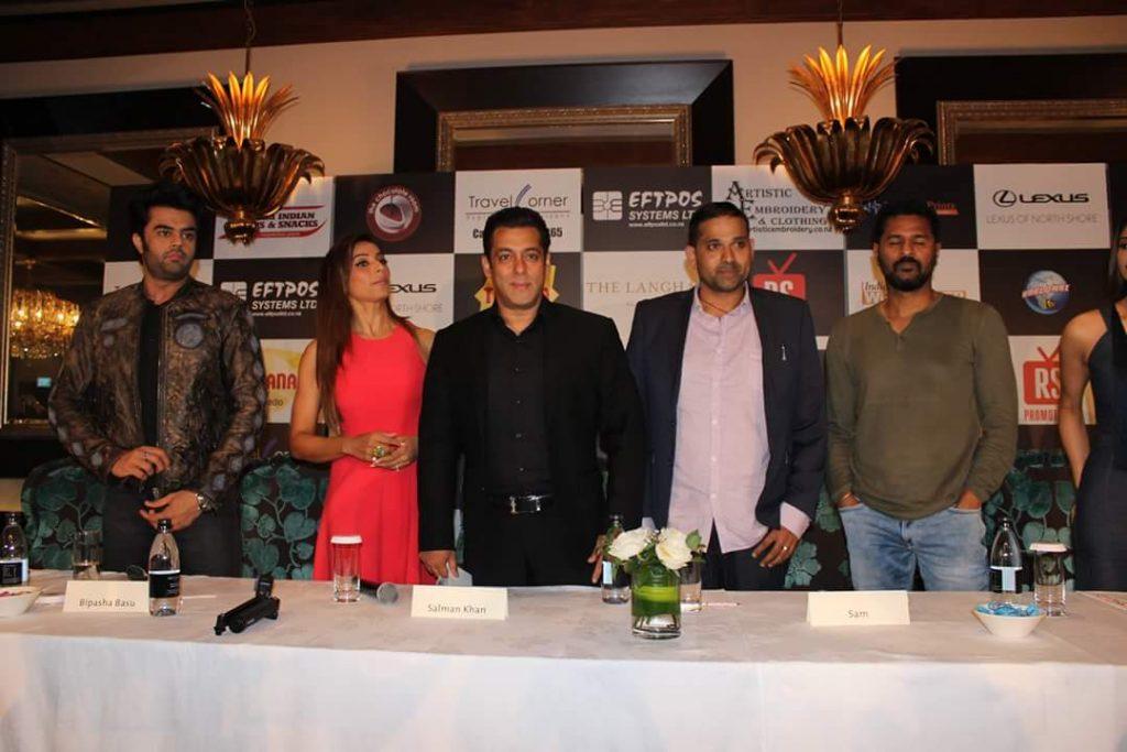 Salman Khan with Bipasha Basu