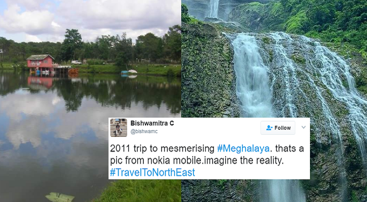 Twitter users are asking people to #TravelToNorthEast and here's why we'reconvinced